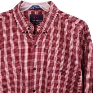 1883 by Lucchese Button Down Western Shirt Red